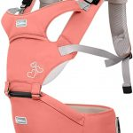 SONARIN Front Premium Hipseat Porte-bébé Baby Carrier,Multifonctionnel, Ergonomique,100% Coton, Boucle Rotative à Papillon, 6 positions...